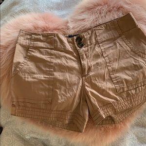 Sanctuary Light Brown Cargo Shorts.
